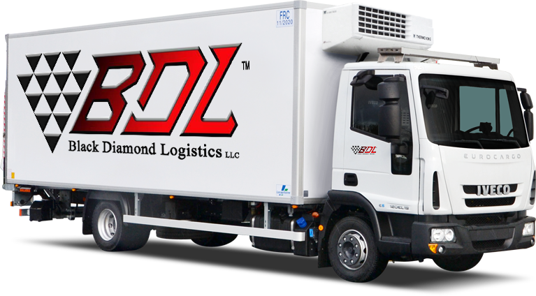 Black Diamond Logistics Solutions Trailer